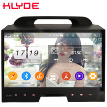 Klyde 10.1″ IPS 4G Android 9 Octa Core 4GB RAM 64GB ROM DSP BT Car DVD Multimedia Player Radio For Kia Sportage 3 4 R 2010-2016