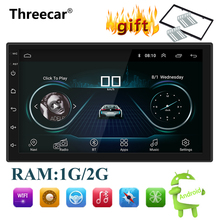 Multimedia-Player Gps Navigation Audio Car-Radio Bluetooth Wifi Stereo Universal Android