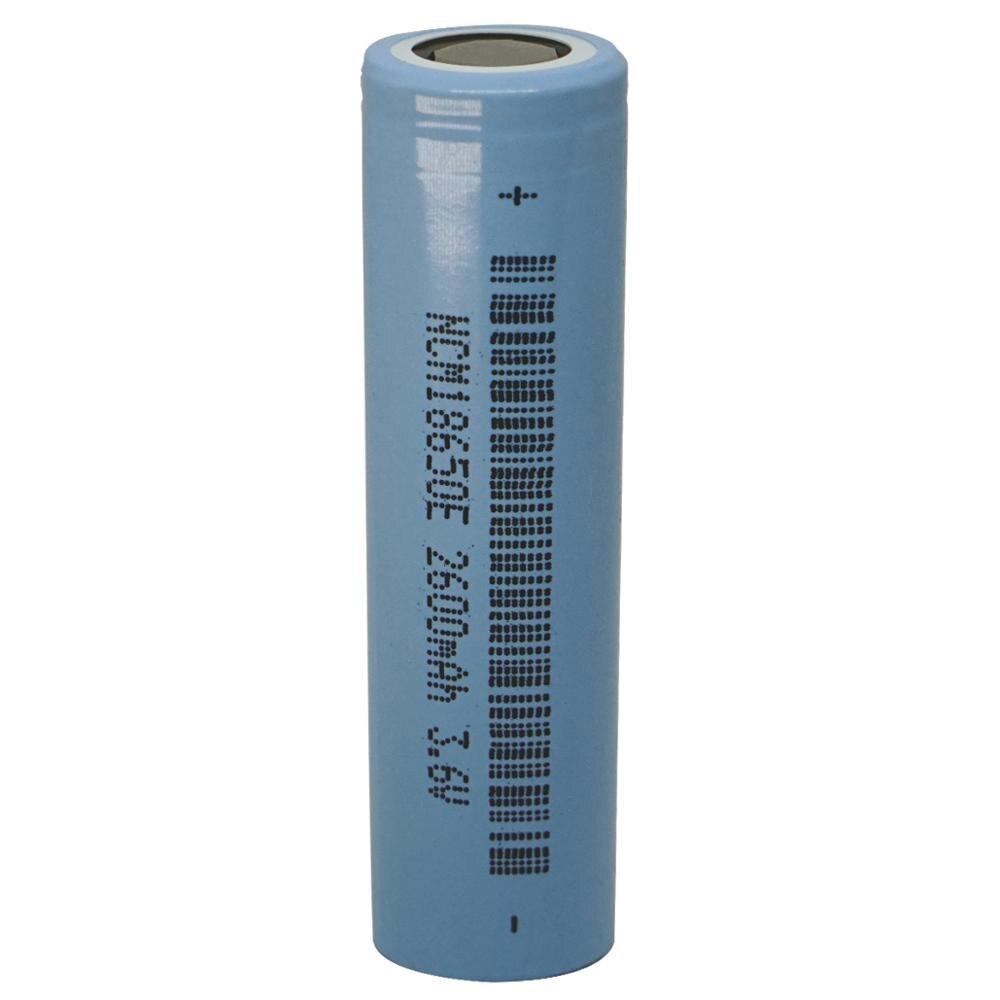 1 Uds 18650 2600mah 3,6 V li-ion plana superior recargable batería INR litio delangnang baterías
