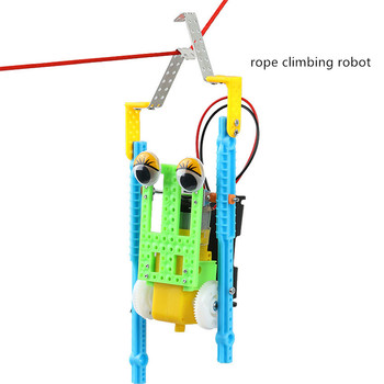 rope climbing robot student puzzle electronic products stuent physics  electronic technology production pulse production technology