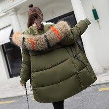 YICIYA Winter jacket women new hooded women down coat fur collar zippers long women jacket female warm winter women down jacket цены онлайн