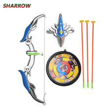 1Set Archery Children Toy Bow And Arrows Safety Practicing Recurve For Outdoor Hunting Accessory