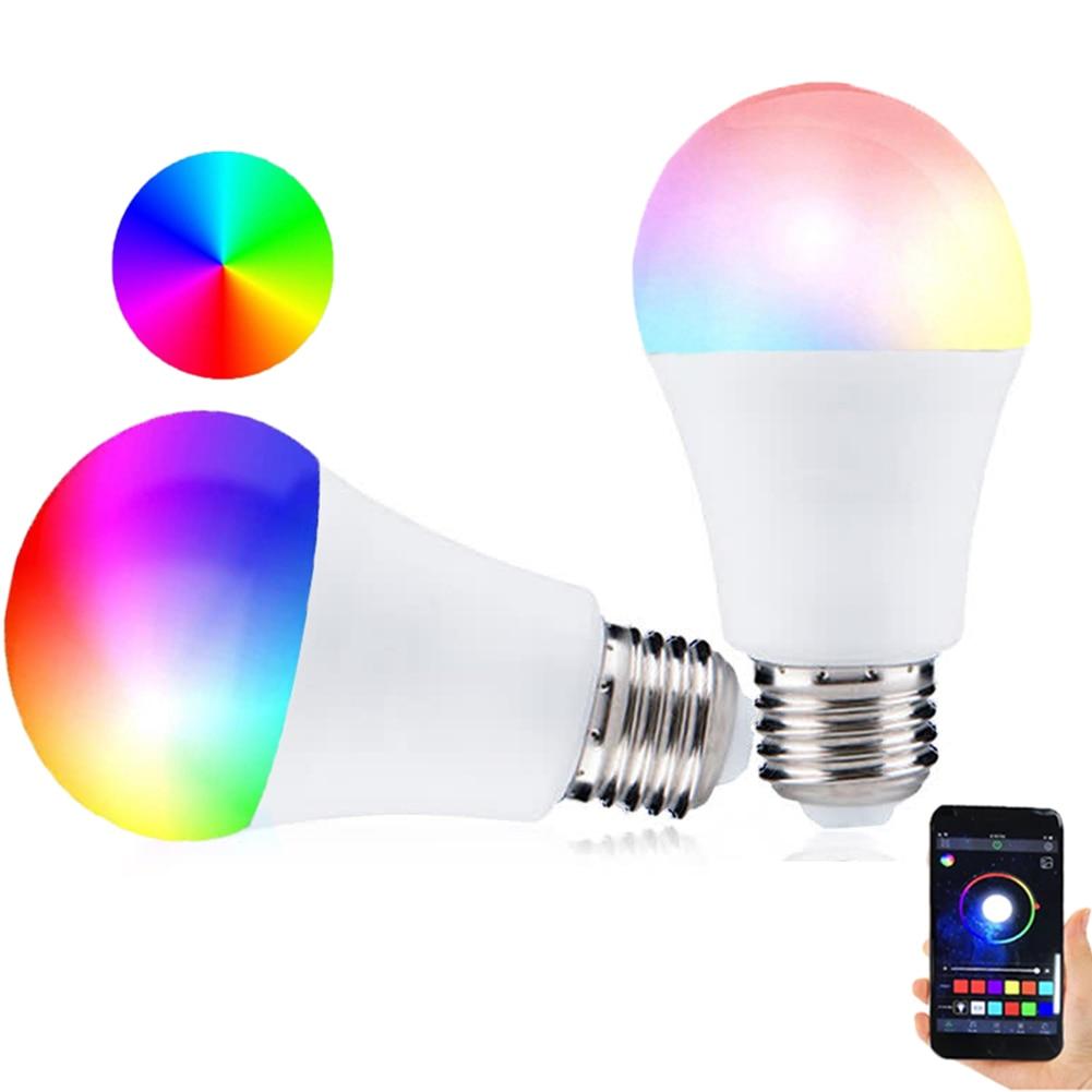 9W WiFi Smart Glühbirnen RGB LED Licht Lampe WiFi RGB Smart LED Glühbirne für Apps durch iOS android Hause