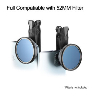 Image 3 - Ulanzi 1.33X Anamorphic Lens Filmmaking Phone Camera Lens Widescreen Movie Lens by Filmic Pro App for iPhone 11 Pro Max Pixel 4