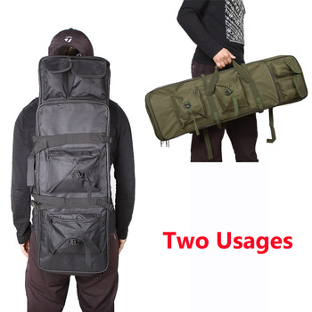 81 94 115cm Tactical Molle Bag Nylon Gun Bag Rifle Case Military Backpack For Sniper Airsoft Holster Shooting Hunting Accessorie 6