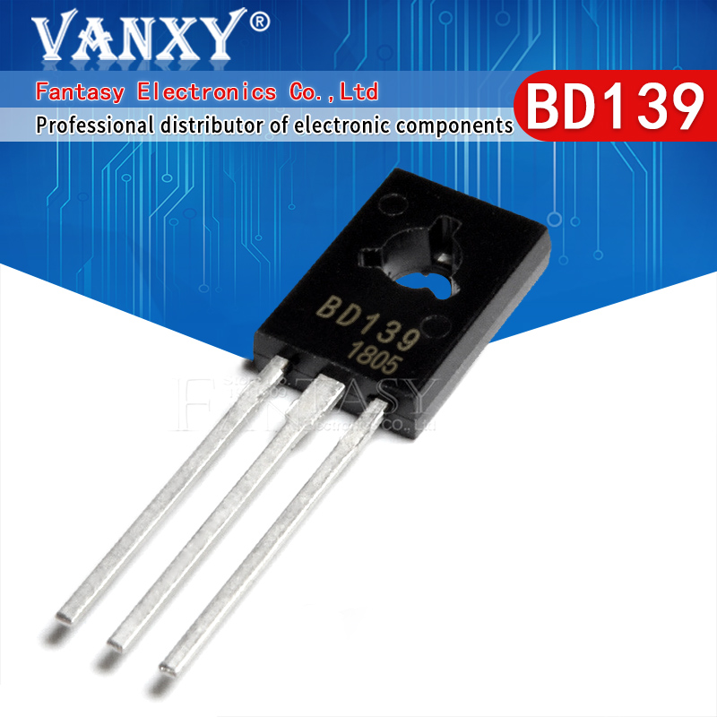 10PCS BD139 TO126 TO-126 new  voltage regulator IC