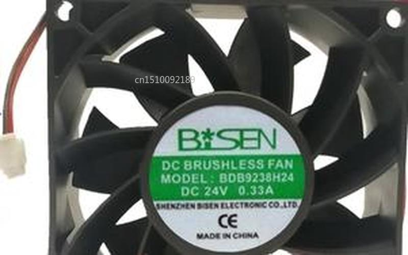 For Brand  Original 9238 BDB9238H24 24V0.33A 2 Line 9CM Cooling Fan Free Shipping