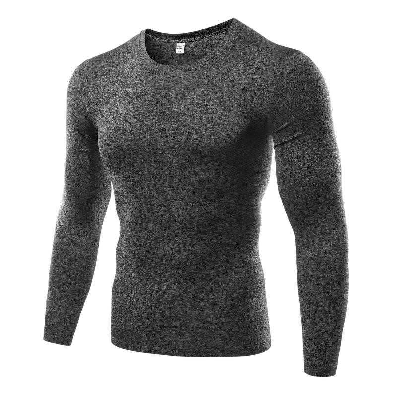 2020 Men's Compression Basic T-Shirt Skinny Long-Sleeve T-Shirt Top