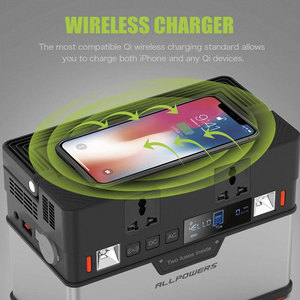 Image 2 - ALLPOWERS 110V 220V AC 발전소 순수 사인파 휴대용 발전기 전원 자동차 냉장고 TV 드론 노트북