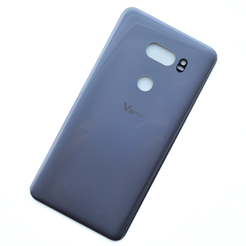 For LG V35 ThinQ Glass Rear Housing Back Case Battery Cover With Adhesive V35 ThinQ Repair Part