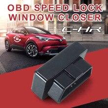 New Module OBD window closing&speed lock car auto close Car Door Lock for Toyota C-HR
