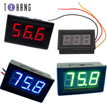 цена на DC 0V-99.9V mini LED digital display voltmeter voltage panel meter electric meter electronics diy kit