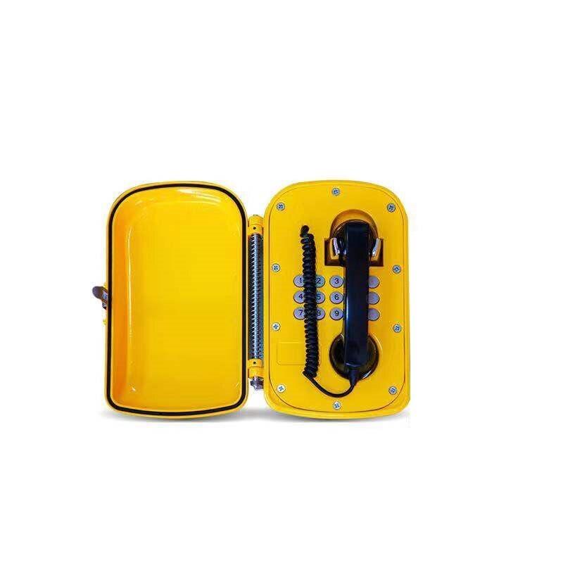 Téléphone extérieur imperméable d'ip de POE d'équipement de communication de téléphone de sip de voip avec la carte mère d'atcom