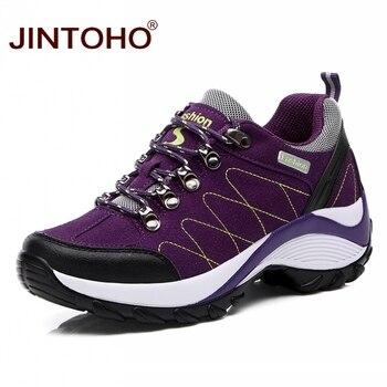 JINTOHO Winter Sneakers For Women Outdoor Women Running Shoes Cheap Women Sport Shoes Platform Female Ladies Sneakers 1