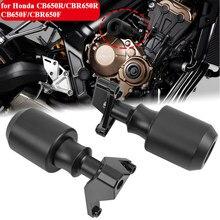 Rama motocykla Crash Pad stojan silnika suwaki Protector dla Honda CB650R CBR650R CB650F CBR650F 2014-2021 2020 CB CBR 650 R
