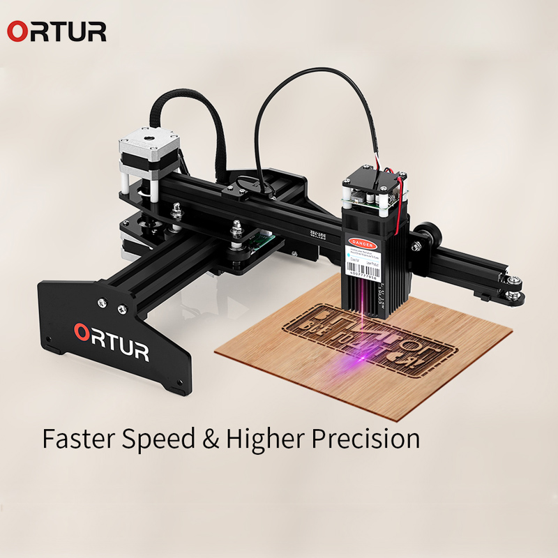 Ortur Laser MASTER 20W Engraving Machine 32-bit DIY Laser Engraver Metal Cutting 3D Printer For Windows with Safety Protection