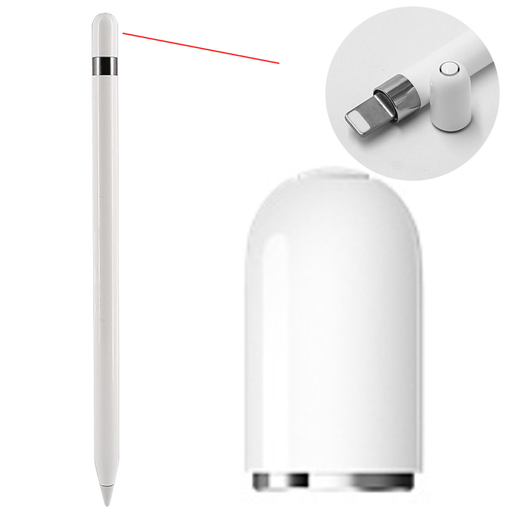 New Magnetic Replacement Pencil Cap For iPad Pro 9.7/10.5/12.9 inch Mobile Phone Stylus Accessories & Parts