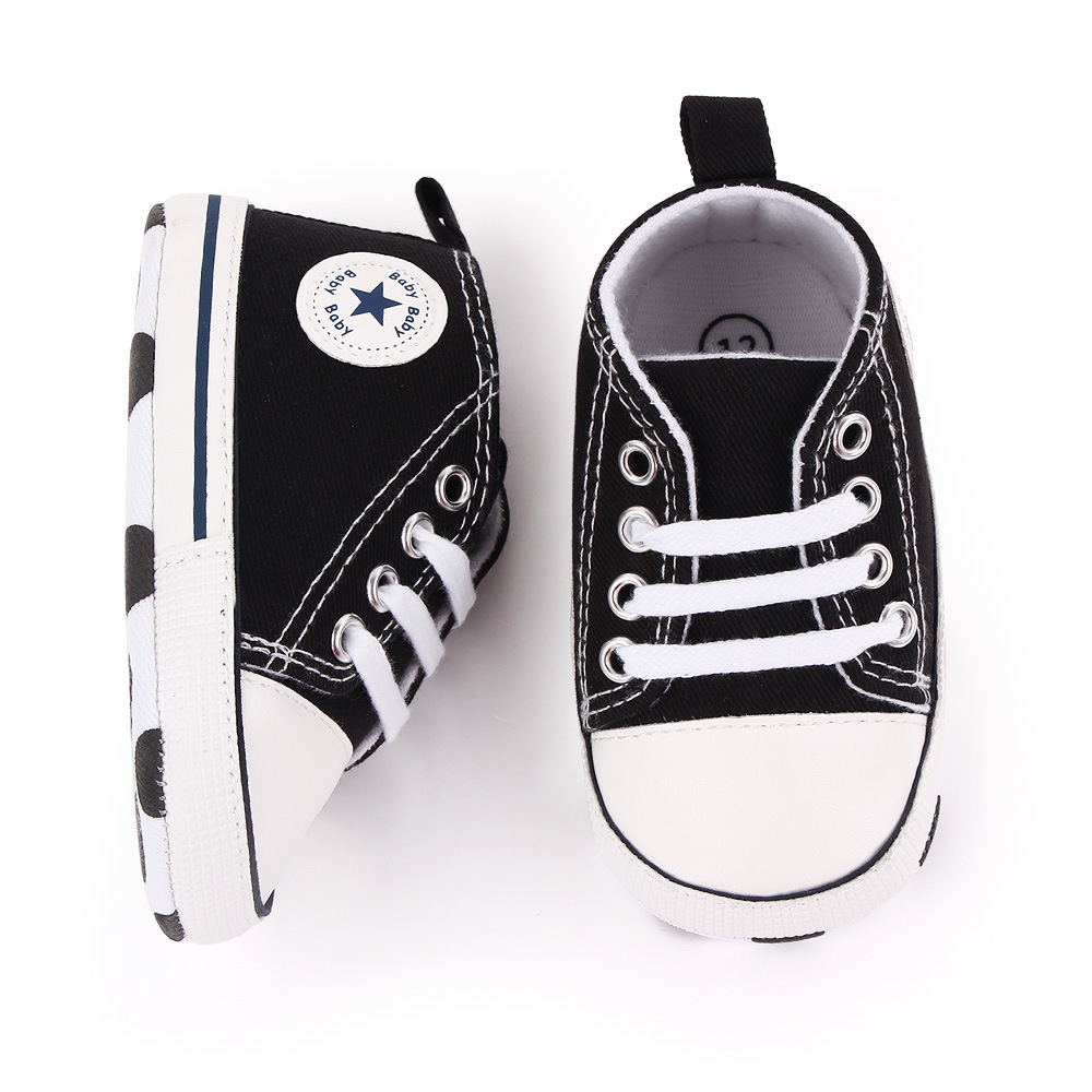 Baby Canvas Classic Sports Sneakers Image