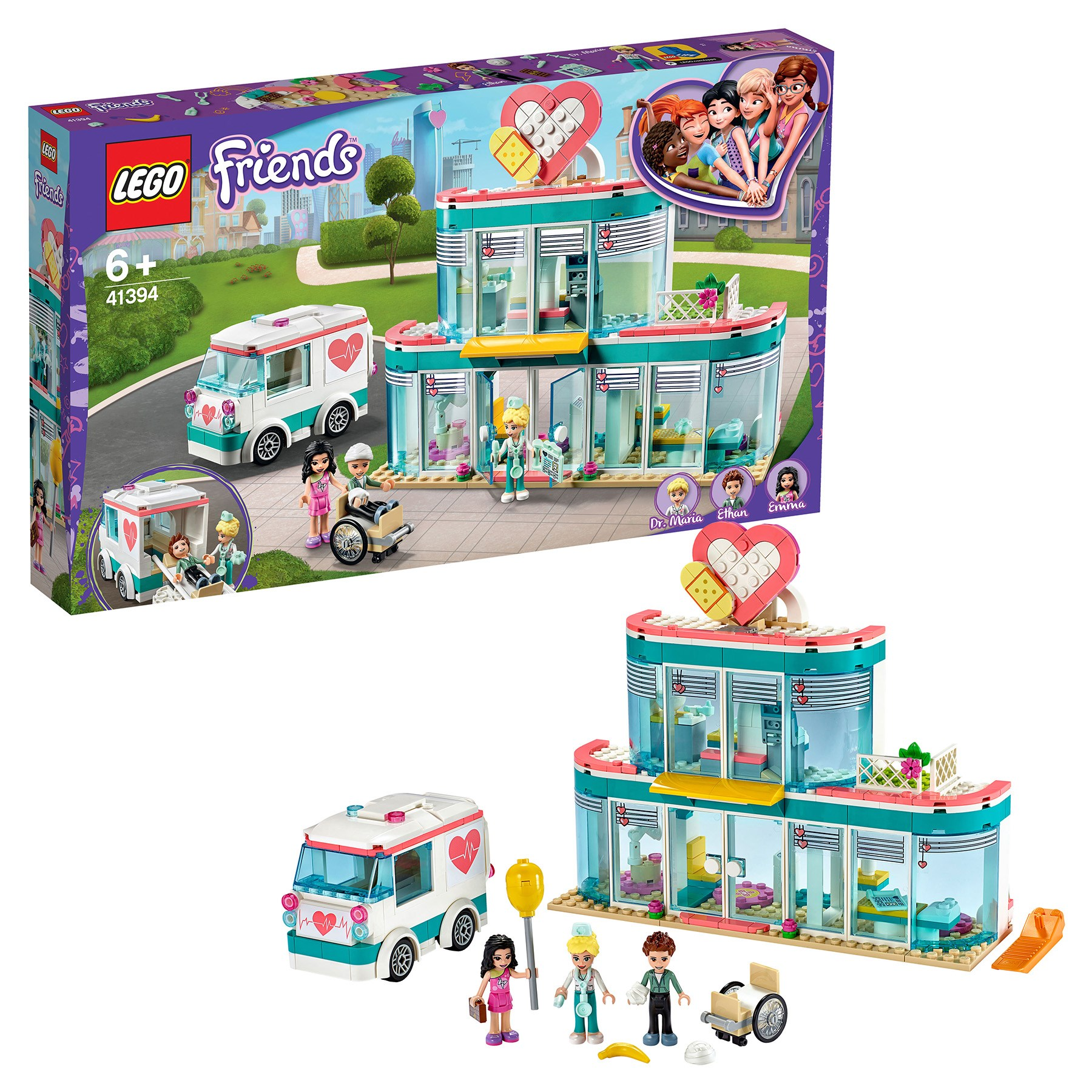 Designer Lego Friends 41394 City Hospital Hartlake City