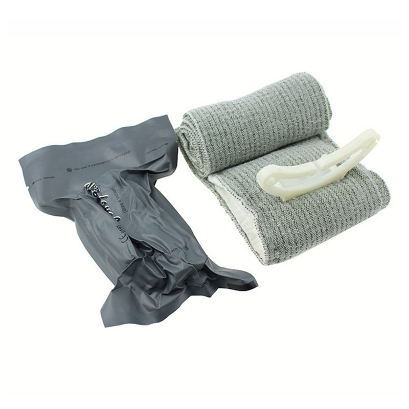 Outdoor Urgent First Aid Hemostasis Emergency Elastic Bandage Sterilization Tactics Rescue Tactical B Israeli Bandage