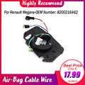 Para Renault Megane II Megane 2 Coupe Break Air-Bag Cable de repuesto Cable de reparación Cable de alambre 8200216462 pieza de diseño para coche