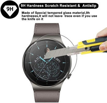 2pcs Unthin Soft TPU HD Clear Protective Glass Film For Huawei Watch GT 2 Pro Smart Watch Full Screen Protector Cover For GT2 2 pcs screen protector for huawei watch gt 2 pro soft film full cover 9h clear anti scratch screen guard protective shatterproof