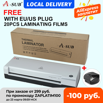 A4 Laminator,laminating Machine 2 Roller System for Use for Home, Office or School, Suitable for use with Photos 1