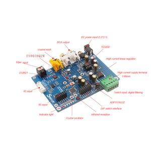Image 3 - Lusya ES9038 Q2M DAC DSD Decoder Board Supports IIS DOP 32bit 384KHz DSD512 T0157