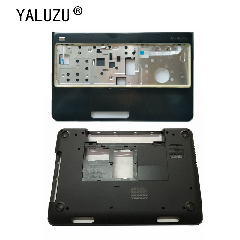 YALUZU New For <font><b>DELL</b></font> Inspiron 15R <font><b>N5110</b></font> M5110 Bottom Base Cover <font><b>Case</b></font> lower <font><b>case</b></font> PN: 005T5 39D-00ZD-A00 15R image