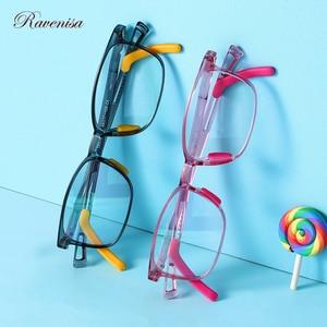 2020 óculos transparentes ópticos na moda para meninos luz azul bloqueio tr90 quadro quadrado óculos de computador crianças