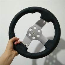 Кожаный руль для Logitech G27 G29 гоночный автомобиль симулятор запчасти