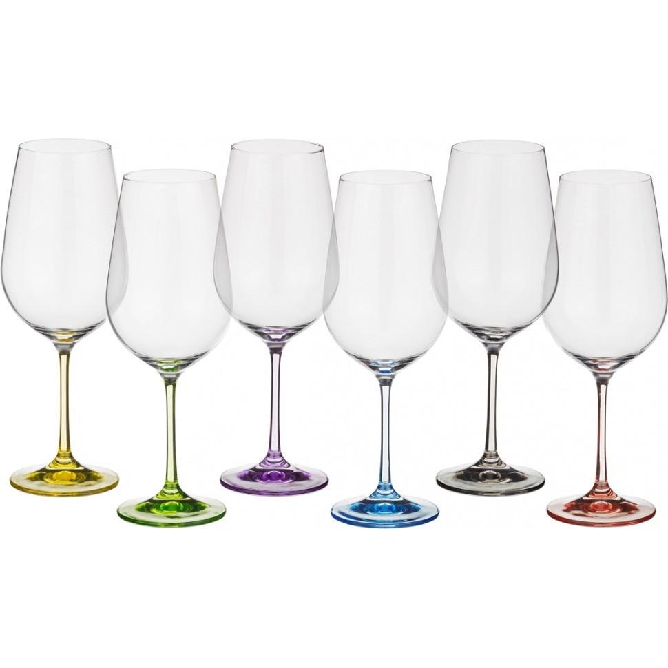 Set Of Wine Glasses Of 6 PCs.