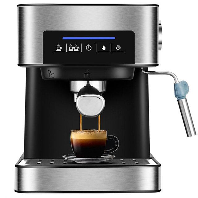 ITOP Electric 20Bar Italian Coffee Maker Household Americano Espresso Coffee Machine Fancy Milk Foam Maker 220V 3