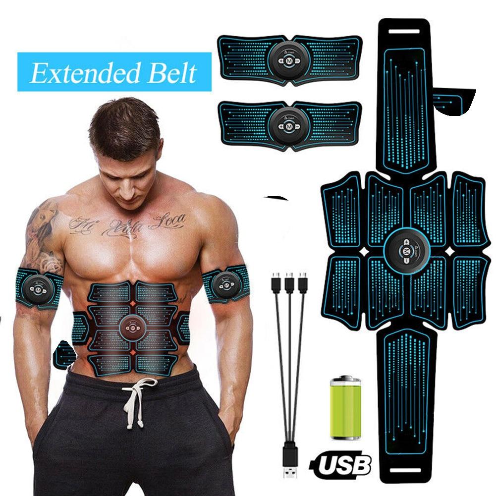 Estimulador muscular de eletroestimulação ems, cinto vibratório