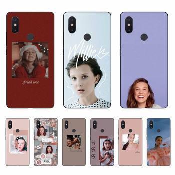 Yinuoda Millie Bobby Brown funda de teléfono suave Capa para Xiaomi mi5 6 5X 6X Mi9 9SE mi8lite Mi10 Mi10Pro teléfono móvil F1