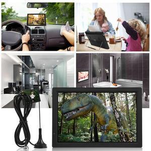 "Image 4 - 14 אינץ HD נייד טלוויזיה ATSC טלוויזיה דיגיטלית מיני רכב טלוויזיה אודיו וידאו נגן תמיכה MP4 HDMI צג ארה""ב Plug לבית רכב"