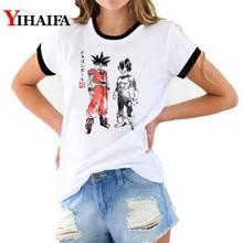 Dragon Ball Z T Shirts 3D Print Goku Vegeta Friends Graphic Tees Women Cartoon Tee Unisex Casual Tops shirt