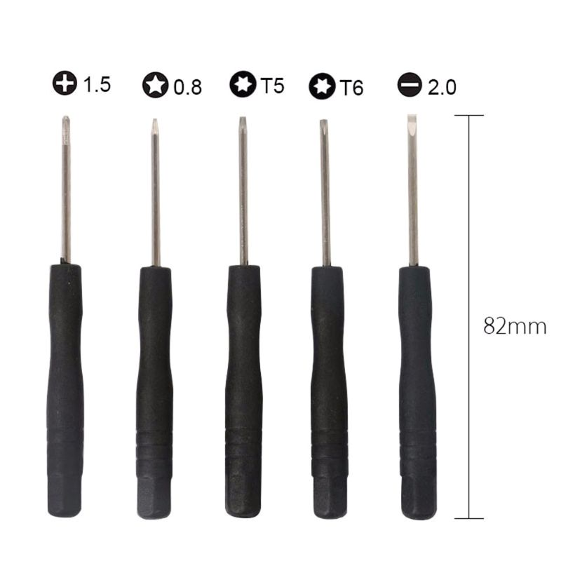 New 11 in 1 Opening Tools Disassemble Kit for iPhone 4 4s 5 5s 6 6s Smart Mobile Phone Repair Tools Kit Screwdriver Set H8WA image
