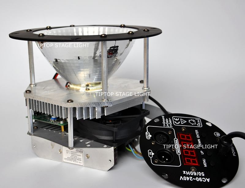 China Fabrikant 8 Pcs Warm Geel/Warm Wit 100W Aluminium Podium Cob Led Par Licht Goedkope Prijs Lineaire dimmer Reflector Cup - 2