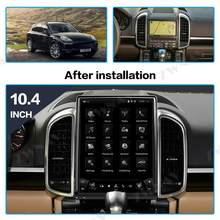 PX6 Tesla Style Big Screen Android 9.0 Car Multimedia Player For Porsche Cayenne 3.0 3.1 car GPS Audio Radio stereo BT head unit(China)