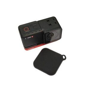 Image 5 - Silikonowa osłona obiektywu osłona przeciwpyłowa osłona ochronna dla Insta360 ONE R 4K obiektyw szerokokątny 360 ° kamera panoramiczna akcesoria