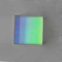 25x25x3mm 1800 Lines K9 Optical Glass Laser Reflection Grating Light Spectral Decomposition Precision Optics Component