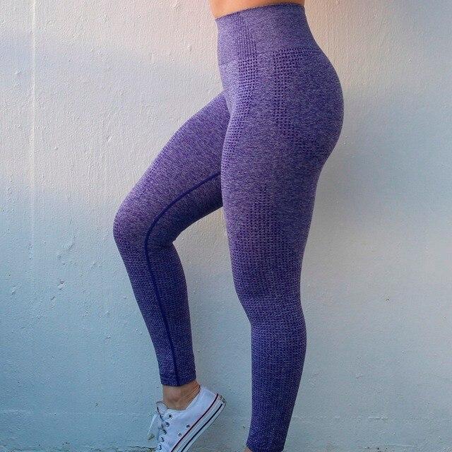 $ US $14.03 Nepoagym Women New Vital Seamless Leggings Gym Seamless Leggings Yoga Pants Girl Sport Leggings