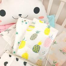 цена на Newborn Baby Nursing Pillow Infant Pillow Baby Cushion Pad Bedding Cotton Breathable Pillows Summer Gauze