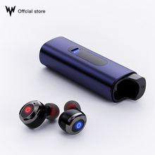 Whizzer WA 11 TWS Bluetooth Earphone v5.0 True Wireless Earbuds Mini Stereo Waterproof IPX7 with Mic