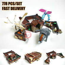 New MOC Movie Newt`s Case of Magical Creatrues Fit Legoings Fantastic Beasts Building Blocks Bricks Kids Potter Diy Toys Gifts