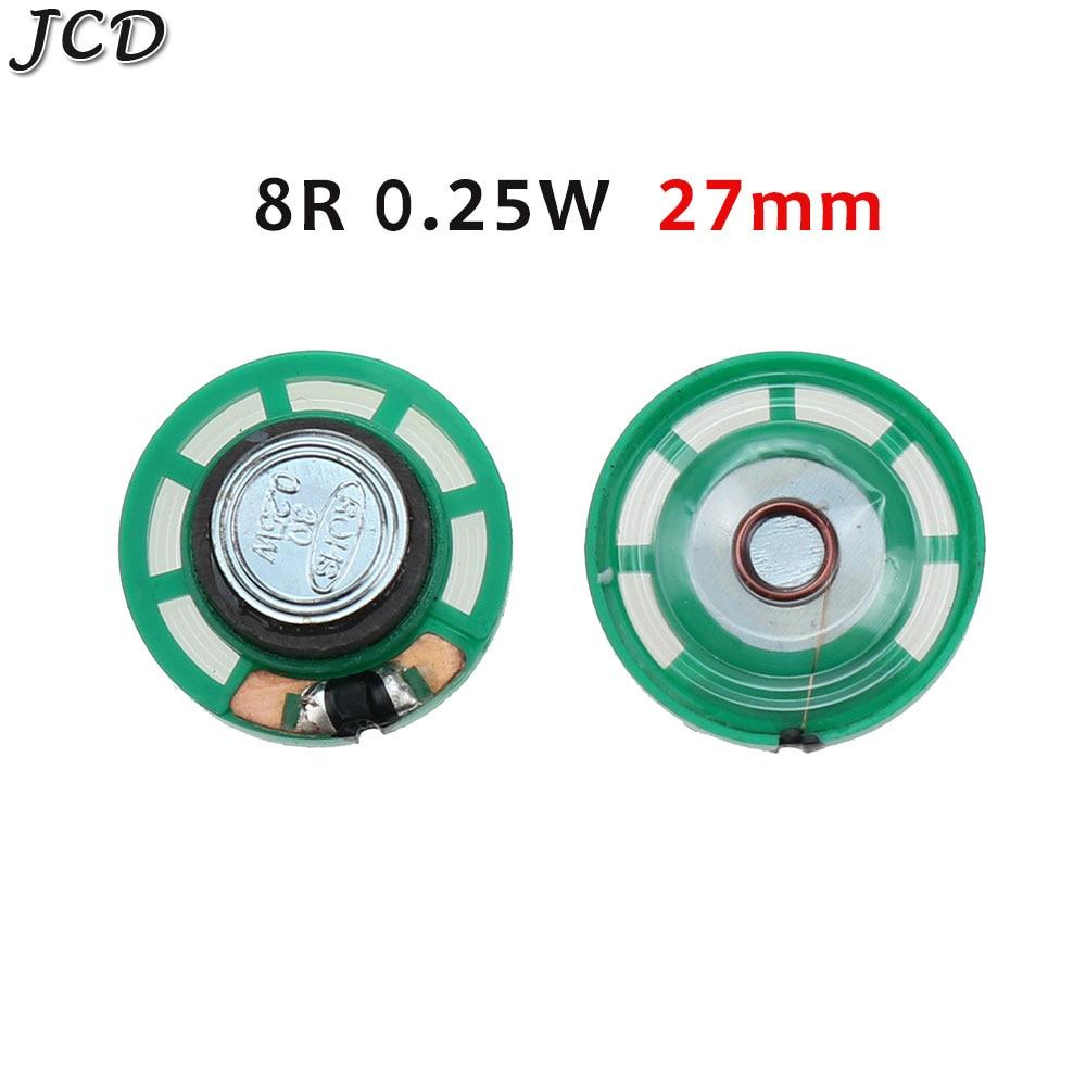 Jcd 1 шт новый зеленый ультратонкий мини динамик 32 16 8 Ом