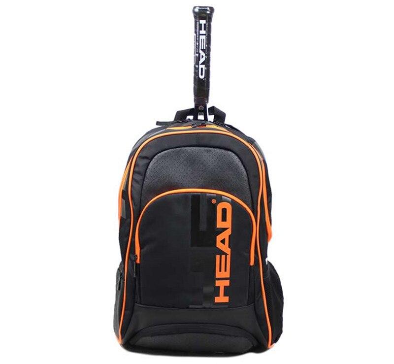 Оригинальный рюкзак для теннисных ракеток на 2-3 дюйма, мужская тренировочная сумка для тенниса, сумка для тенниса, рюкзак для бадминтона, су...