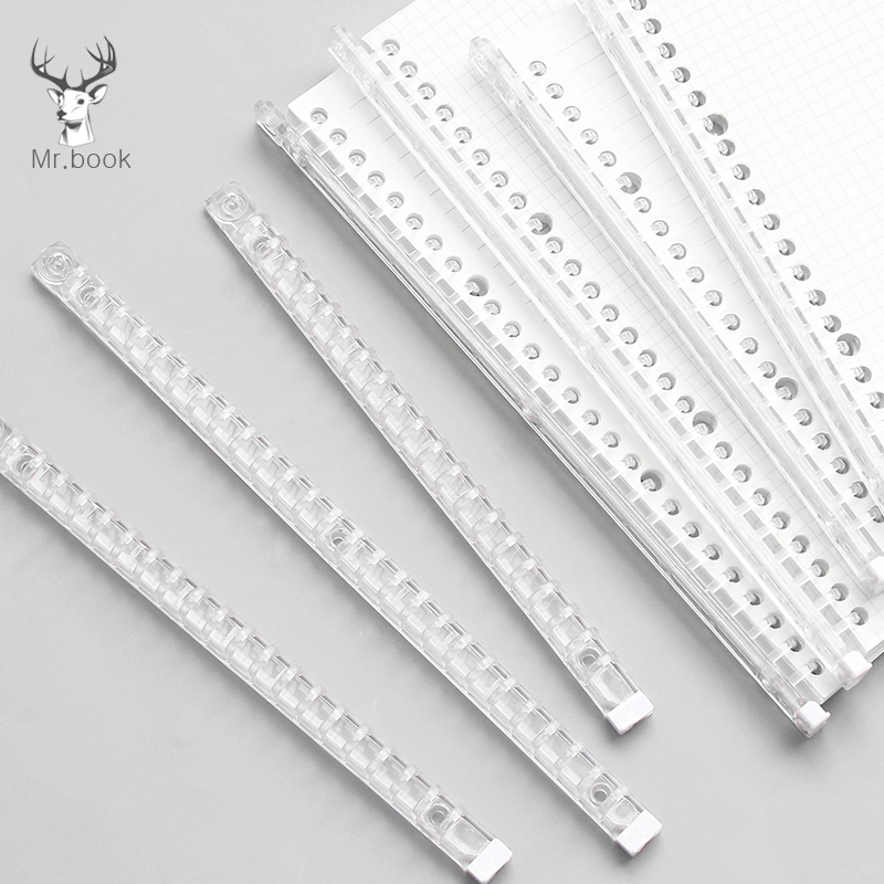 Transparent Soft Plastic Coil Calendar Binding Coil Notebook Spring Book Ring Wire O Binding A5 B5 Binders Wire Binding