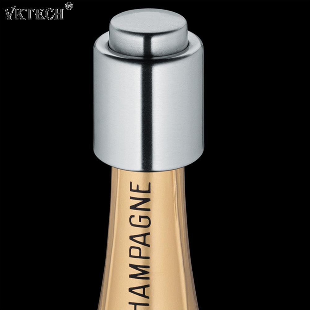 Pressed Vacuum Red Wine Bottle Stopper Reusable Champagne Saver Bottle Cap Sealer Plug Restaurant Bar Tools Kitchen Gadgets